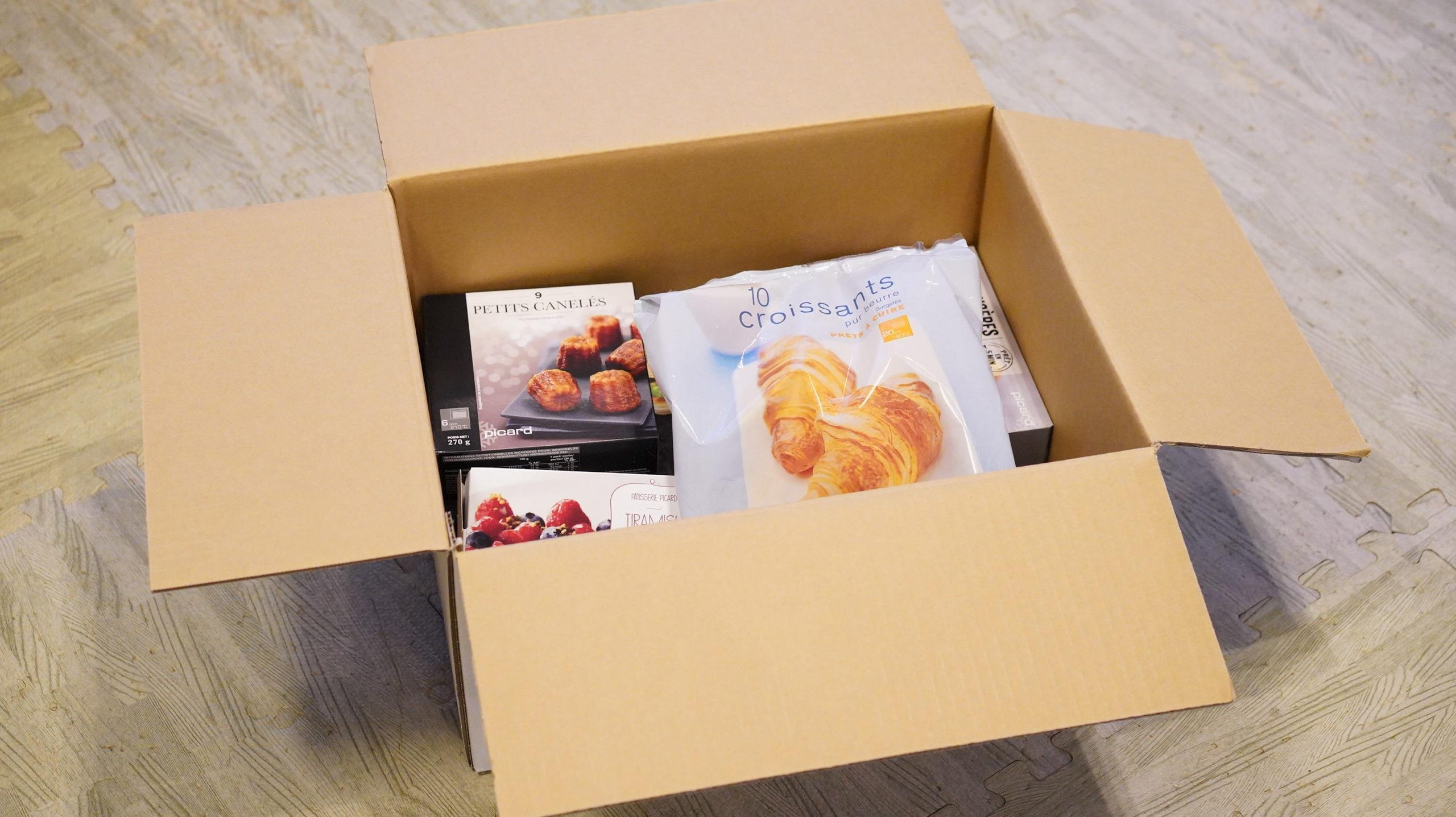 ピカール冷凍食品の送料(オンラインショップ通販で買う場合)2