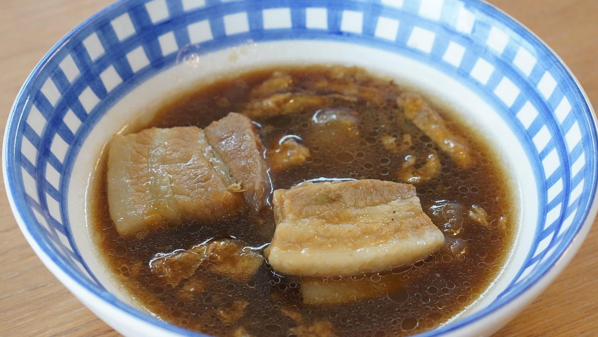 無印良品のおすすめ冷凍食品「バクテー(マレーシア風豚肉の煮込み)」の写真