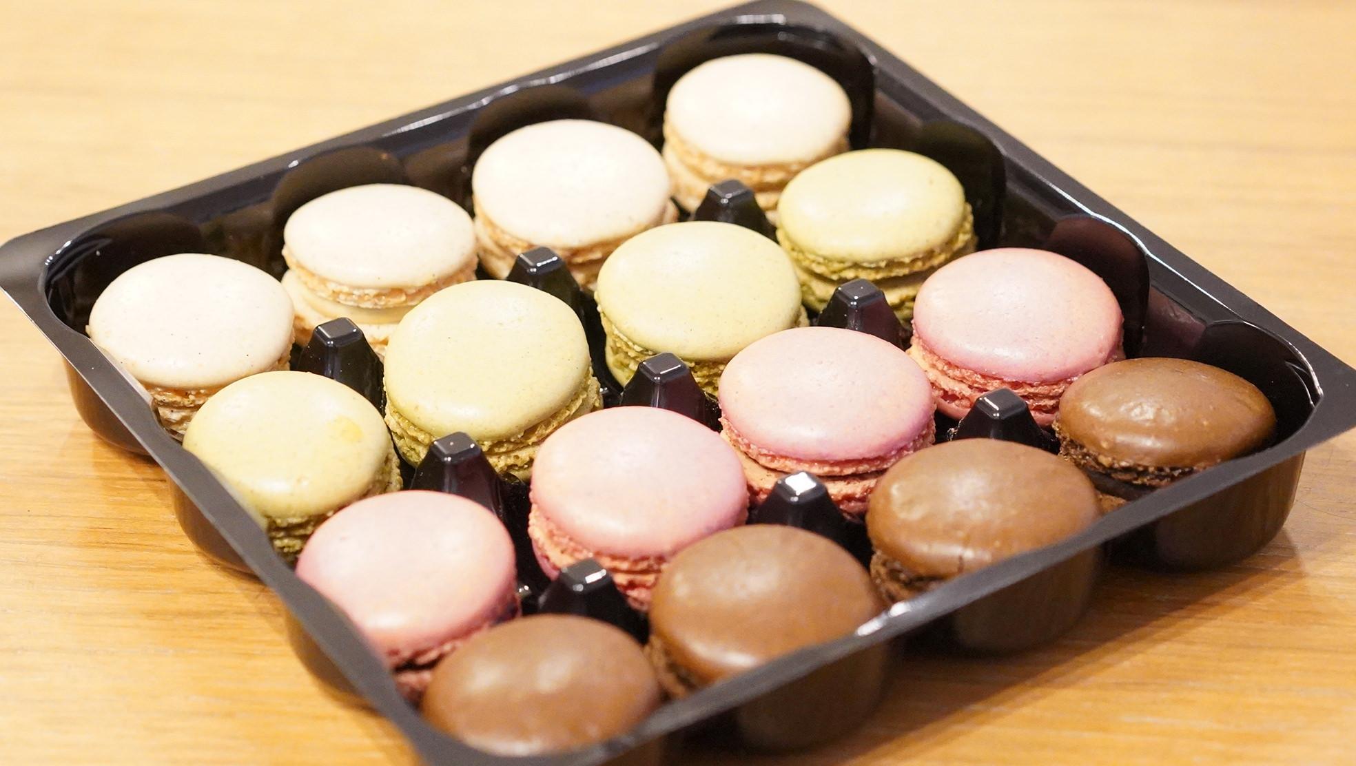 ピカールのおすすめ冷凍食品「4種類のマカロン」の商品写真