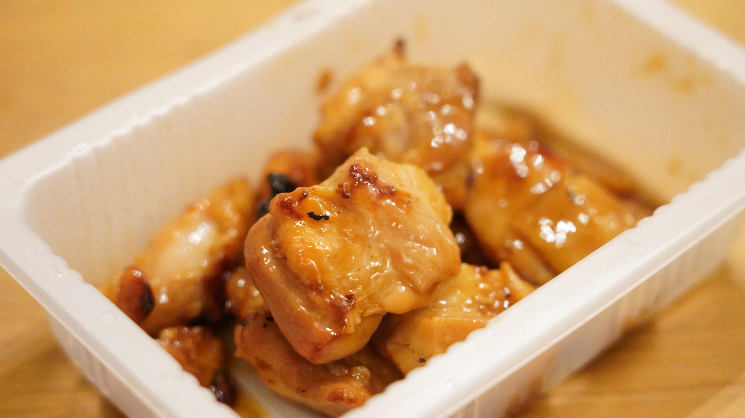 セブンイレブンのおすすめ冷凍食品「焼鳥炭火焼」の中身の写真