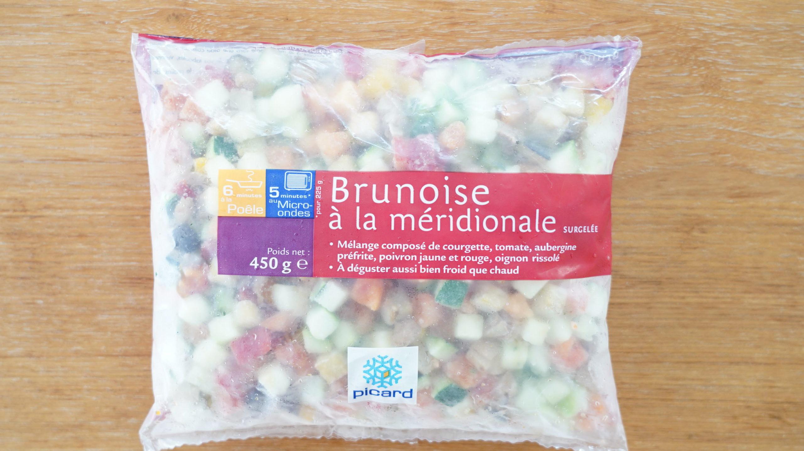 ピカールのおすすめ冷凍食品「南仏野菜の角切り」のパッケージ写真