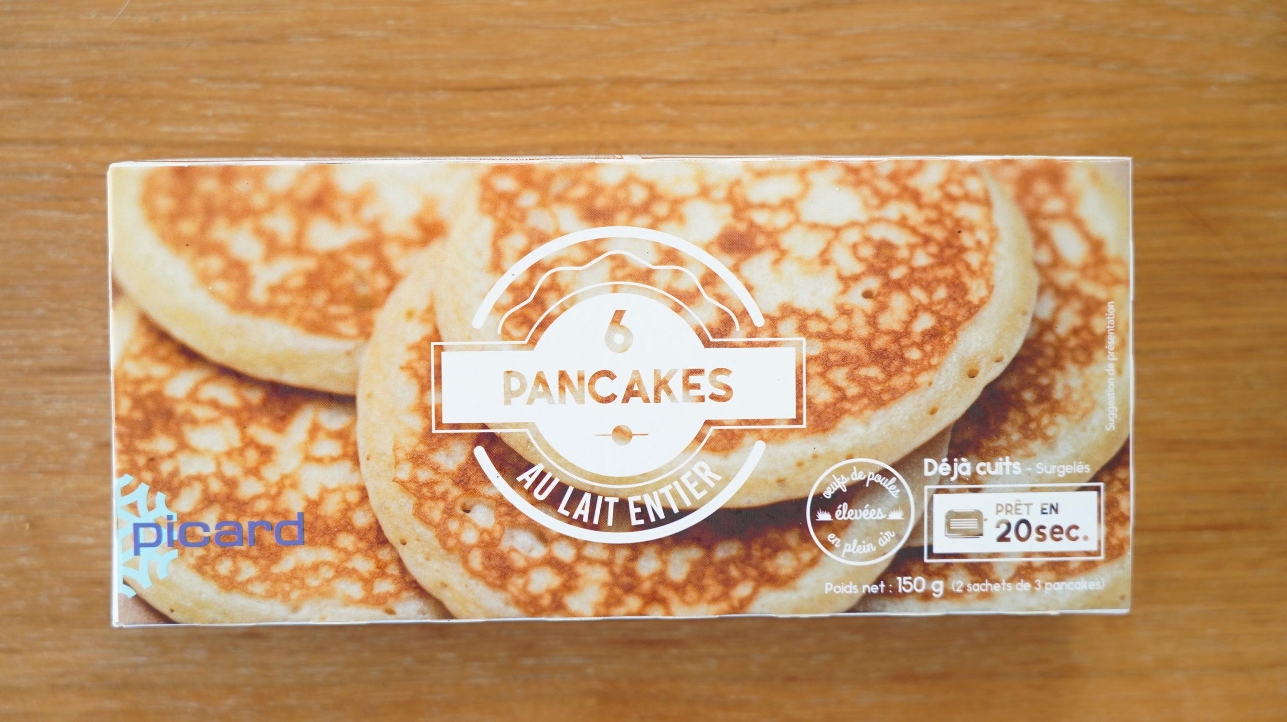 ピカールのおすすめ冷凍食品「パンケーキ」のパッケージ写真