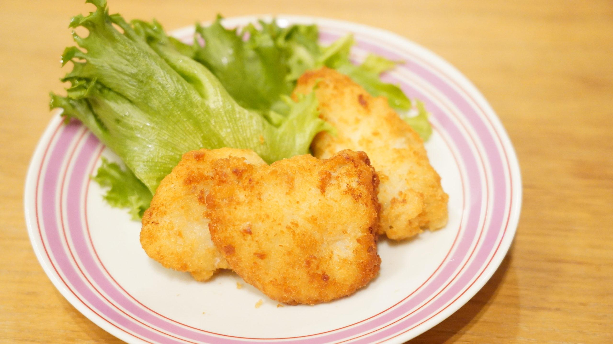 業務スーパーのおすすめ冷凍食品「国産どり・鶏屋さんのチキンカツ」の写真