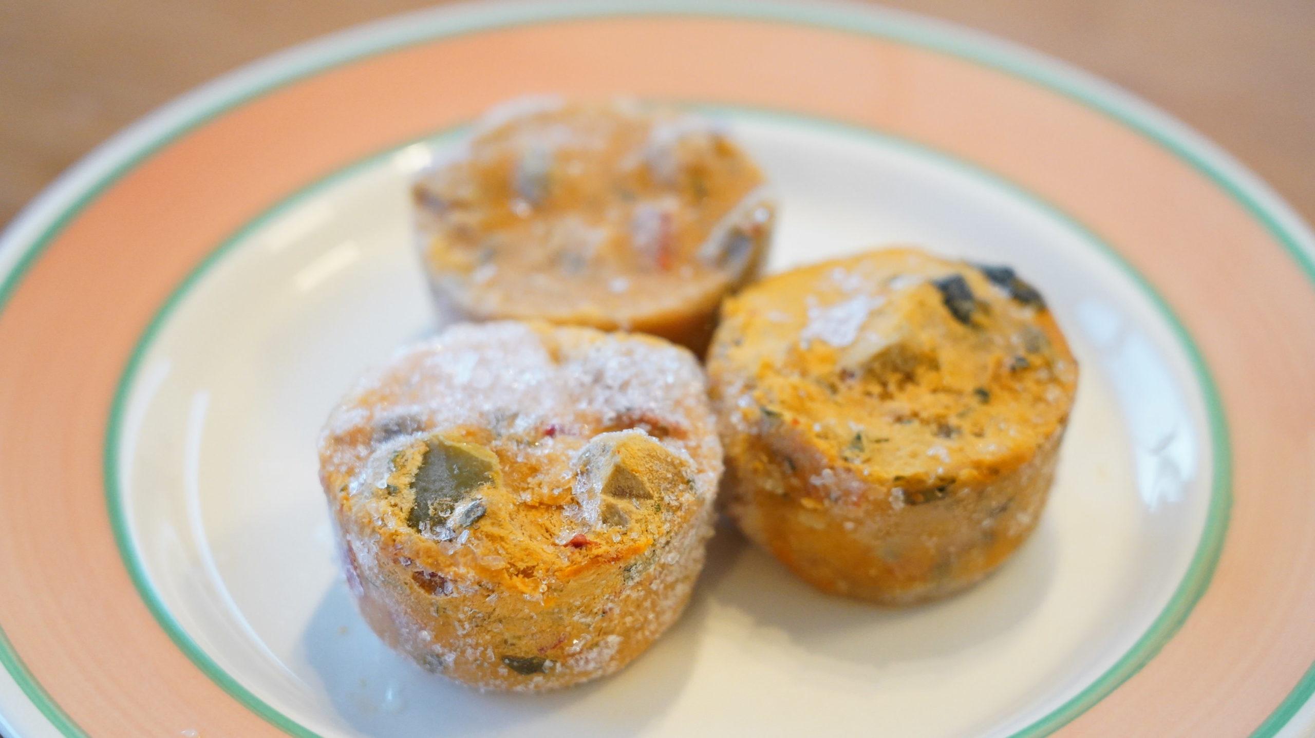 ピカールのおすすめ冷凍食品「プロバンス風野菜の煮込み」のポーション型の写真