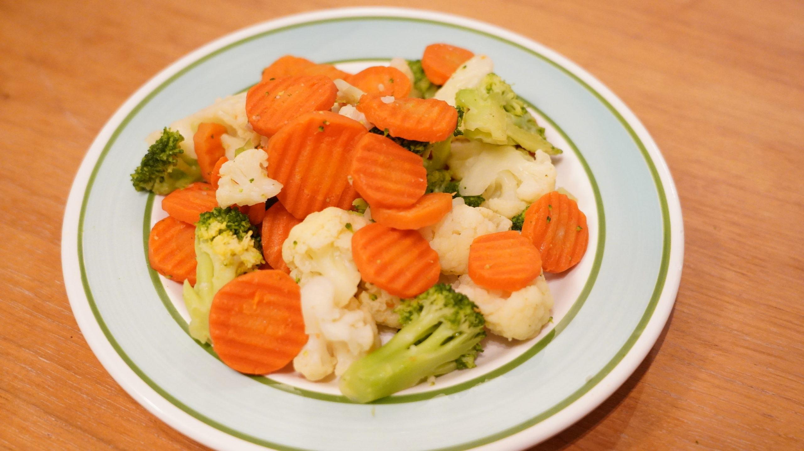 業務スーパーのおすすめ冷凍食品「洋風野菜ミックス」の写真