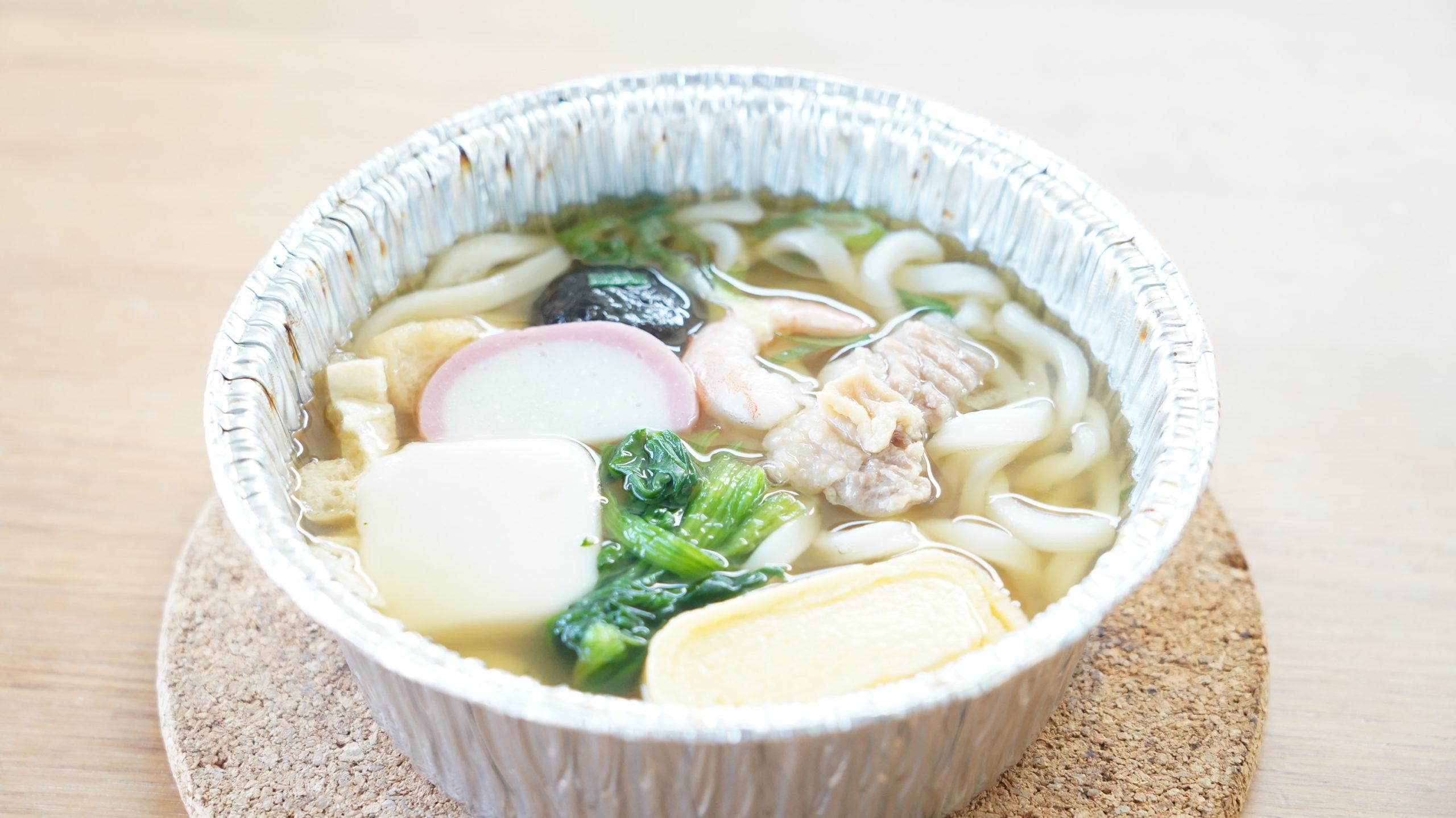 セブンイレブンの冷凍食品「関西風だし・鍋焼うどん」の完成イメージ写真