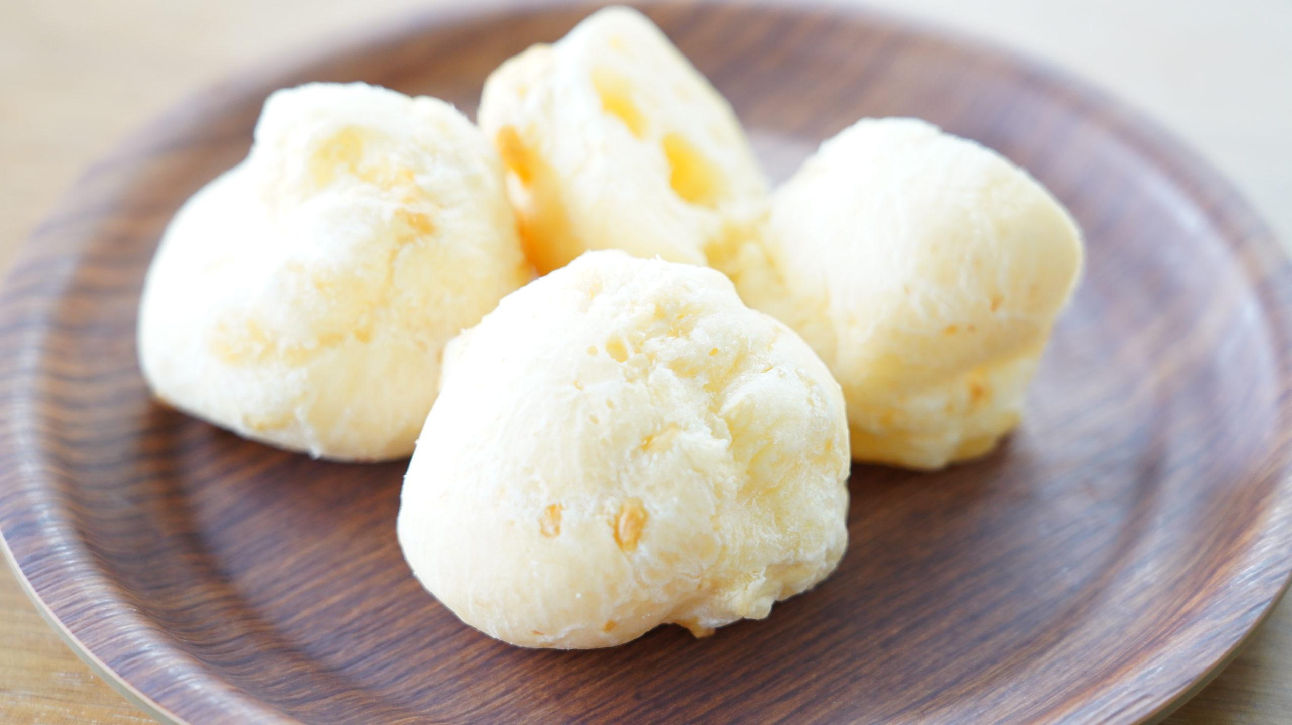 コストコの冷凍食品「ポン・デ・ケージョ」の解凍前の商品写真