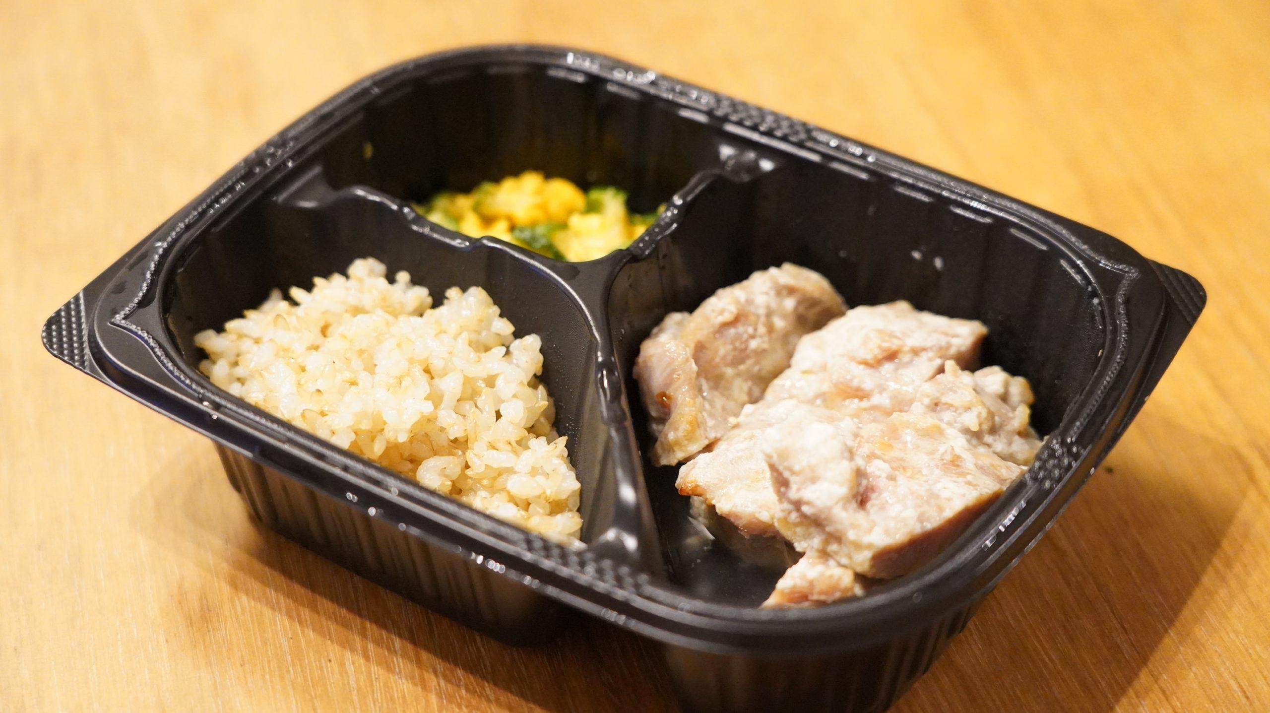 マッスルデリ(Muscle Deli)の鶏肉の塩麹焼きセットの全体写真