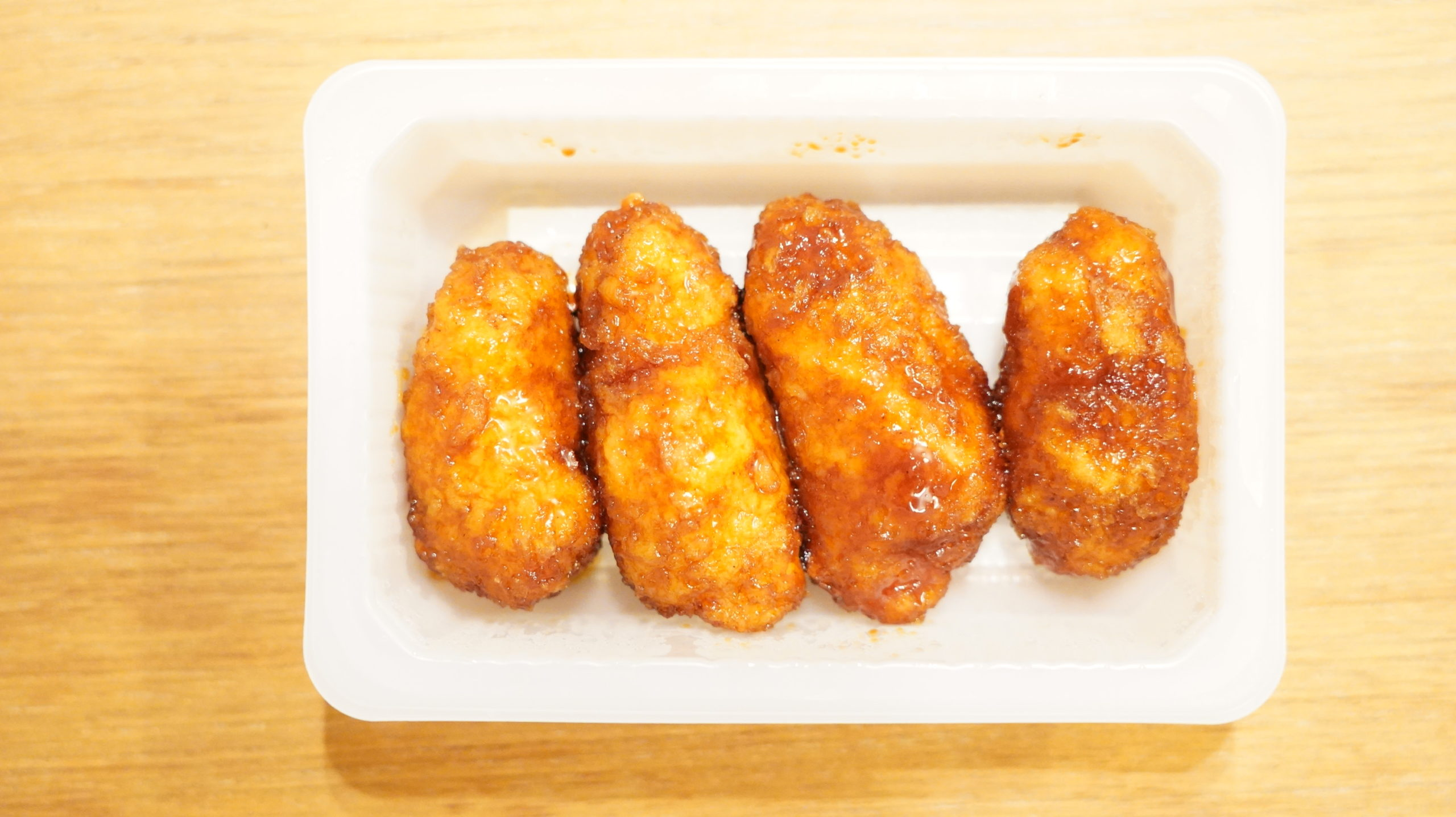 セブンイレブンの冷凍食品「大葉香る・ささみチーズカツ」の中身の写真