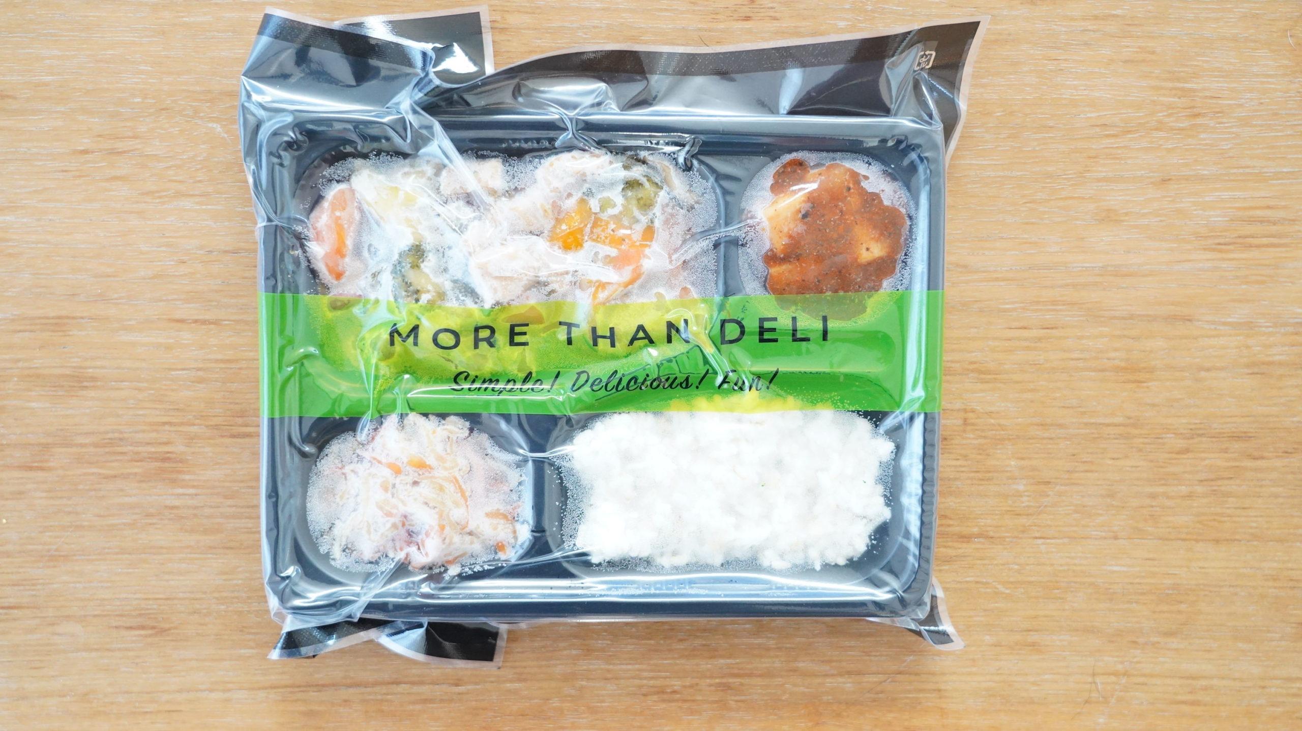 More than Deli(モアザンデリ)の冷凍弁当「牛肉のオイスターいため」のパッケージ写真