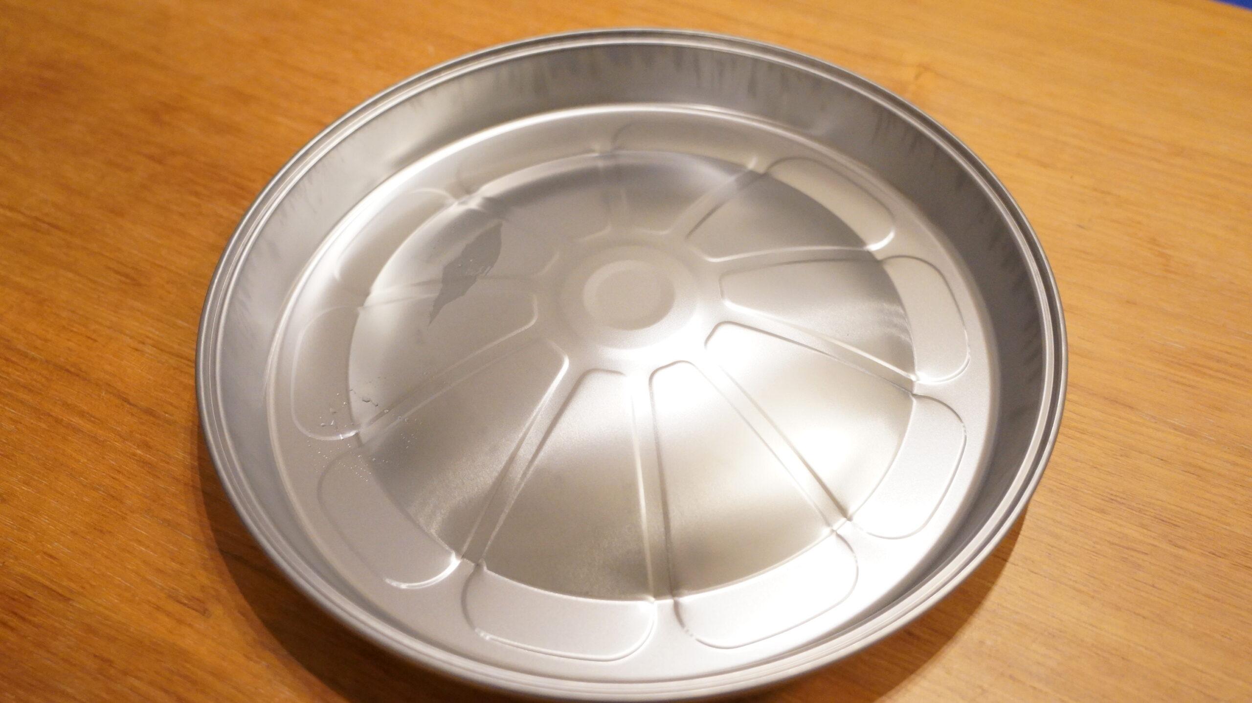 松尾ジンギスカンを通販でお取り寄せした「おためしセットA」に付属する鍋の写真