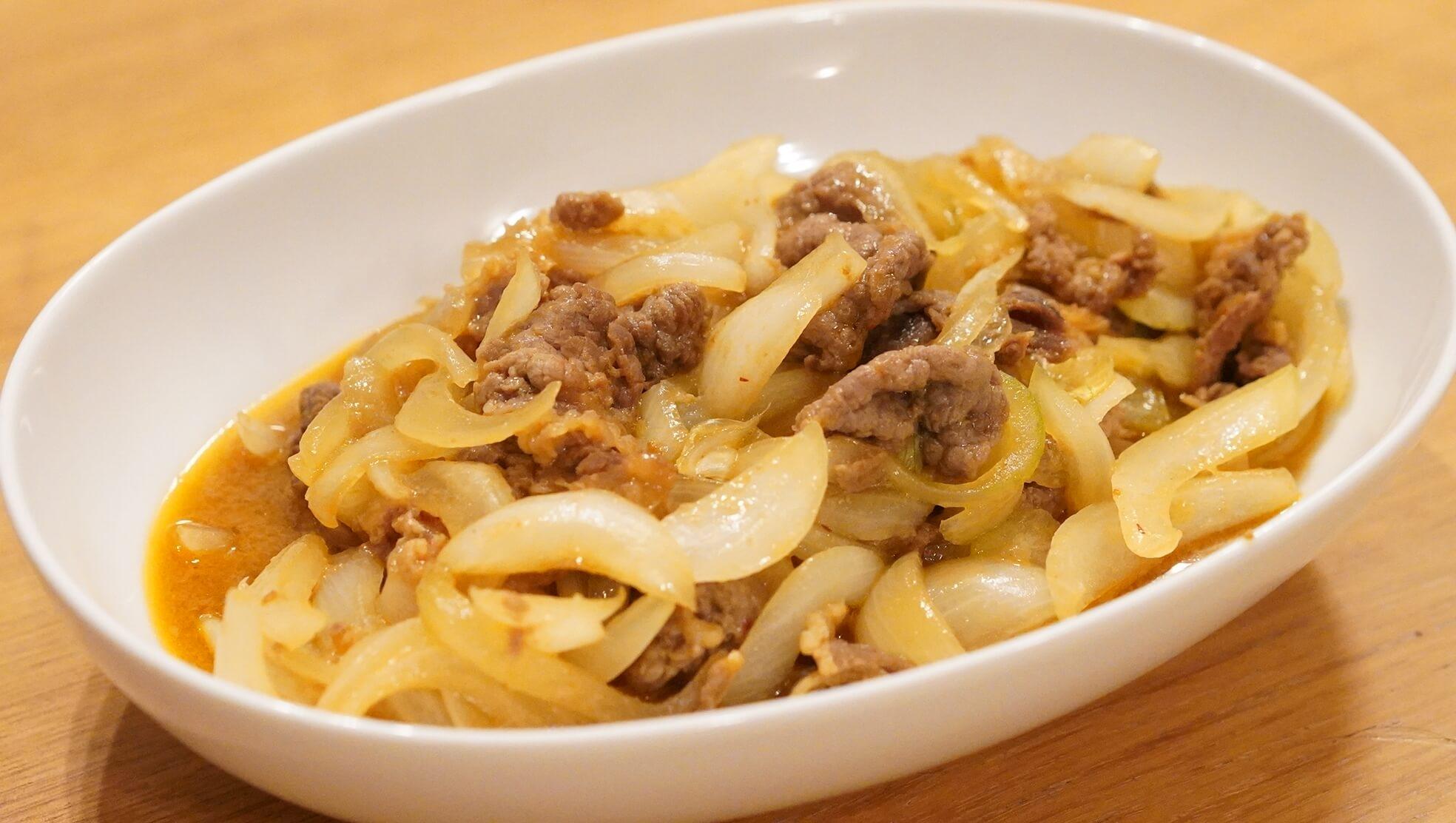 青森のB級グルメ「十和田バラ焼き」の冷凍食品の中身の写真